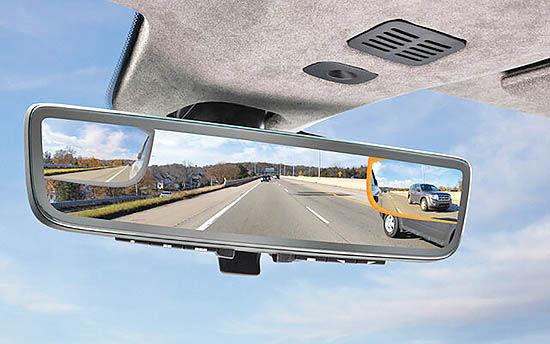 آینه وسط ماشین