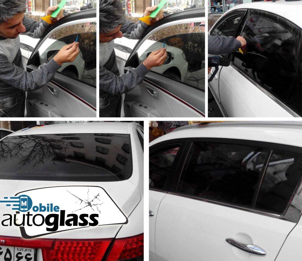 دودی کردن شیشه اتومبیل